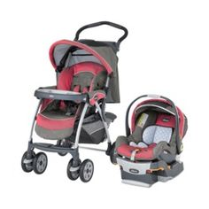 Chicco Cortina Travel System Foxy Pink