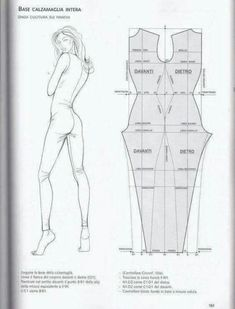 Pin on sewing Jumpsuit Pattern, Pants Pattern, Body Suit Pattern, Swimsuit Pattern, Diy Clothing, Sewing Clothes, Dress Sewing Patterns, Clothing Patterns, Fashion Sewing