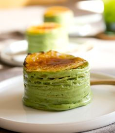 Step-by-Step Recipe: Gluten-Free Mini Matcha Mille Crepe Cake #afternoontea