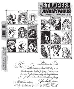 Tim Holtz Stampers Anonymous Classics 9 SCF-9
