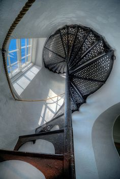 Copper Harbor Lighthouse Tower Stairwell