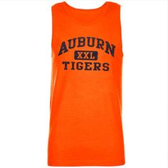 Auburn Tigers Gateway Tank Top - Orange
