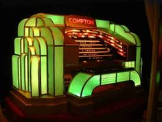 Art Deco Compton organ