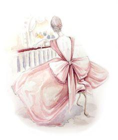 umla. Pretty pink gown. TG