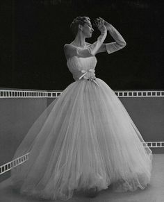 evening gown 1953