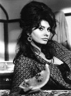 Sophia Loren.  Mom named me after a hair goodess!! :)