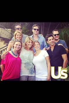 Full House Cast 25 Years Later... minus the Oslen twins and Blake & Dylan