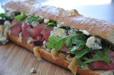 ... see more 8 1 broccoli rabe pear and fontina sandwich seriouseats com