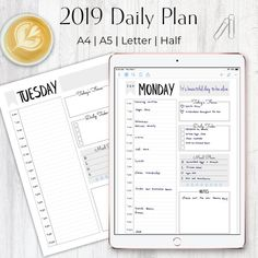 Excited to share the latest addition to my shop: Daily Planner Daily Planner Insert, Digital Daily Planner, Hourly Planner, Daily Schedule, Daily Agenda Weekly Menu Planners, Hourly Planner, Daily Planner Printable, Goals Planner, Budget Planner, Life Planner, Schedule Printable, Planner Board, Agenda Planner