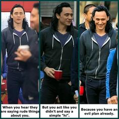 We need Loki to dress like that in one of the movies...