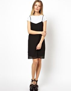 ASOS Cami Slip Dress---love this dress in either black or ivory