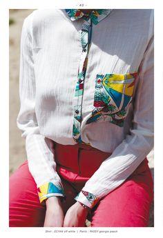 printemps/été 2013 d'Eleven Paris Summer shirt