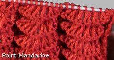 2f1744ef619c Ce document explique comment réaliser le point mandarine. Point inspiré de  la mandarine, facile à tricoter, souple avec un effet gonflant.