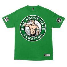 John Cena Salute the Cenation Wwe Shirts, Wrestling Shirts, John Cena Costume, Wwe Superstars, Casual, Mens Tops, How To Wear, T Shirt, Clothes