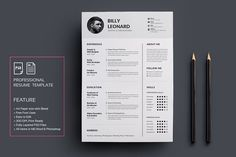 #Resume/CV - #Resumes Download here: https://creativemarket.com/deviserpark/1101135-ResumeCV?ref=alena994
