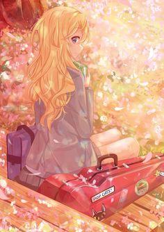 Anime Girl — Kaori Miyazono ~Shigatsu wa Kimi no Uso