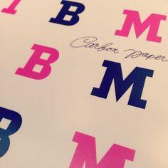 Seen at #IBM Headquarters: #vintage typewriter supply packaging designed by Paul Rand.