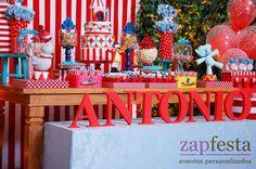 zap festa: circo vintage