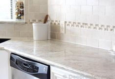 Formica 180fx Crema Mascarello is a beautiful white option for your next kitchen countertop