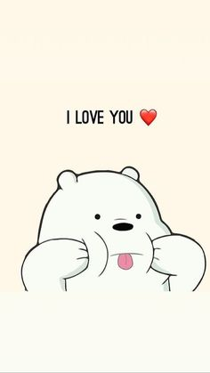 I Love You We Bare Bears Wallpapers Ice Bear We Bare with regard to We Bare Bears Wallpaper Quotes - Find your Favorite Wallpapers! Cute Panda Wallpaper, Cartoon Wallpaper Iphone, Disney Phone Wallpaper, Kawaii Wallpaper, Animal Wallpaper, Colorful Wallpaper, Wallpaper Quotes, Wallpaper Backgrounds, Ipod Wallpaper