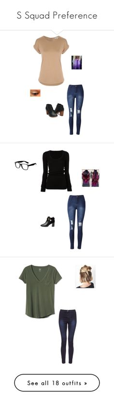 """S Squad Preference"" by maryvarleyrox ❤ liked on Polyvore featuring La Senza, DRKSHDW, Ted Baker, Gap, Cosabella, Jonathan Simkhai, Frame Denim, WearAll, Disney and Topshop"