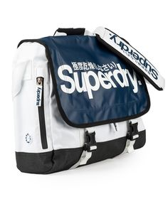 Superdry two tone laptop bag