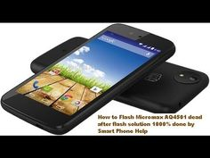 How to Flash Micromax AQ4501 dead after flash solution 1000% done by Sma...