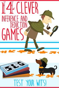 14 Clever Inference and Deduction Games to Test Your Wits! via @MakeYourGameSLG