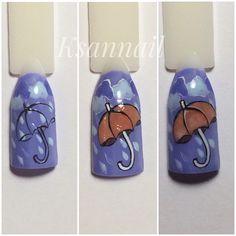 Ногти ,дизайн ногтей,осенний дизайн ,осень,мкногти,мк,nail,nail,дизайн пошагово