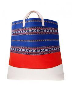 Pin for Later: Diese Taschen warten auf den nächsten Strandausflug Clare Vivier Canvas Tasche Clare V. Matilde Canvas Tote ($198)