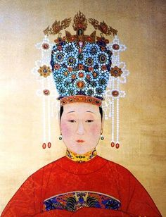 Imperial Noble Consort Wensu, later Empress Dowager Xiaojing (1565–1612), mother of Taichang Emperor.  Initially a maid of the Dowager Empress who caught the eye of Emperor Wanli, however, Wanli only favored Lady Zheng, and all but ignored Xiaojing, hence Taichang was not created crown prince until 1601 AD. Her grandson, the Tianqi Emperor, promoted her to Empress Dowager. Thus she was re-buried from an Imperial Concubine's tomb to the Wanli Emperor's tomb.