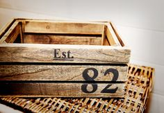 Set of 2 Storage Crates - Next Home Style