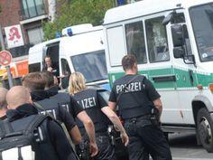 """Roma- Allarme terrorismo in unacittàdella Sassonia, Chemnitz, che èstata blindata dalla polizia in seguito a una """"grave minacc..."""