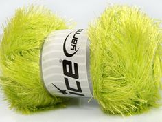 Fiber Content 80% Polyester 20% Lurex Light Green Brand Ice Yarns fnt2-46559