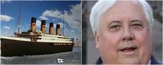 The new boat is promising to be a close replica of its 1912 counterpart. 106 years after the original ship sank to the bottom of Titanic Ii, Titanic Photos, Original Titanic, Titanic Survivors, Grand Staircase, Model Ships, Travel And Leisure, Photo Credit, Swimming Pools