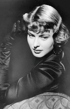 The beauty actress #IngridBergman it in old photo of the classic movie #7moArt ...