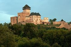 NW Slovakia - The Castle, which is along with those of Spiš and Devín one of the biggest in Europe