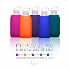 Stay hydrated with a colorful bkr!