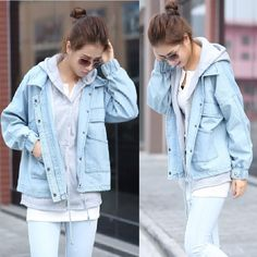 Levi Jean Jacket XL 80s Distressed Denim Jacket Faded Levis Jacket 90s Blue Vintage Oversized Biker Grunge Denim Extra Large XL xxl