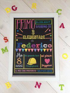 Back to school photo pro. Poster stampabile e personalizzabile