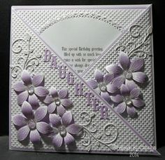 Criss-Cross Birthday Card - Carolynshellard
