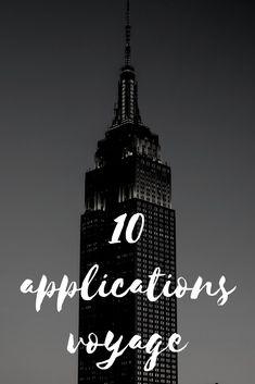Astuces voyage : mes 10 applications pour vous aider lors de votre séjour. Mes 10 applications voyage