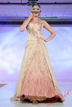 Khubsoorat Collection by Mani Kohli.  Ardhanginni Indian Wedding Show 2011
