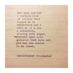 The Universe and Her, and I #255 written by Christopher Poindexter