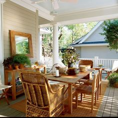 Back Patio Wrap Around Porch . Back Patio Wrap Around Porch . Outdoor Rooms, Outdoor Living, Outdoor Decor, Outdoor Mirror, Outdoor Seating, Porch Furniture, Outdoor Furniture Sets, Furniture Ideas, Rustic Furniture