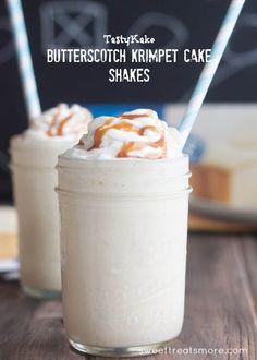 Butterscotch Krimpet Cake Shakes