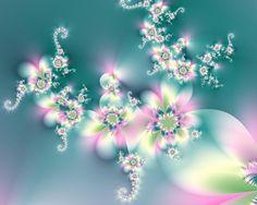 Pink and Blue Petals