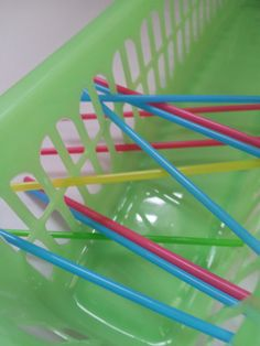 Fine motor - easy activity with what you have at home.  Visit pinterest.com/arktherapeutic for more #finemotor games and activity ideas