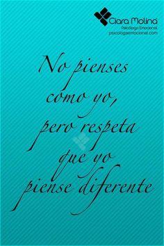 ACEPTANDO LA DIVERSIDAD... (((Sesiones y Cursos Online www.psicologaemocional.com #psicologia #emociones #salud)))