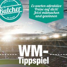 Werde The Butcher Tippspiel-König der WM 2018! Jeder Tipp zählt um Punkte zu sammeln – also melde dich noch heute an und gib deine ersten Tipps ab! Als Hauptpreis wartet ein CHF 1000.- Food-Gutschein auf dich! -> www.butcher.ch/wm #healthyasf #wm #tippspiel